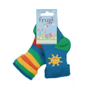 Grippy Socks 2 Pack_Sunshine