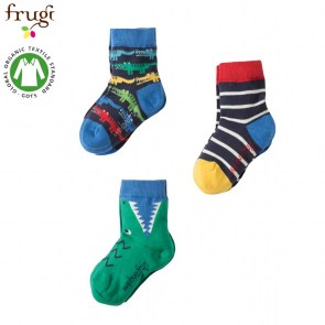 VERDILLA-IT-Frugi- Calze-Kids-Crocodiles-Multipack 3 paia-SOS751CMU-1