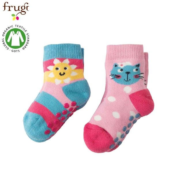 55bcd91e2f VERDILLA-IT-Frugi-SOS701KMU-Calze -Antiscivolo- KITTY- Multipack.