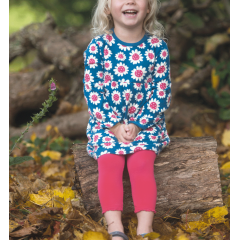 Leggings biologici 'Little Libby - Raspberry'